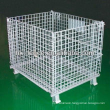 Hot Sale Hot Dipped Galvanized Folding Wire Container for Storage