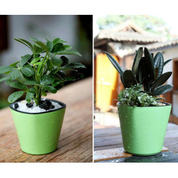 (BC-F1050) Diseño de moda de plástico auto-riego Flower Pot