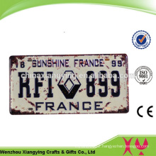 Special Design Widely Used OEM Acceptable Car Plate