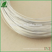 Jewelry Findings wire high purity 99.99 ASTM10 pure silver wire