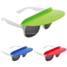 Las gafas de sol promocionales del visera comienzan de 100pcs