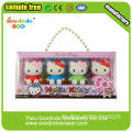 ПВХ упаковка Hello Kitty Shaped Eraser для детей