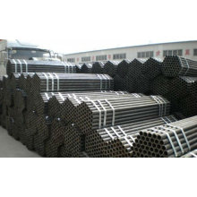 welded steel fluid pipe for industry