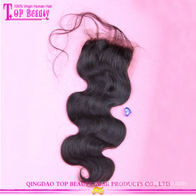 Popular silk base body wave 100%peruvian virgin hair lace closure hot sale virgin peruvian hair lace closures