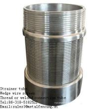 Fil ou connexion soudée cuné filtre tamis tube