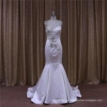 Vestidos de noiva de tafetá seda