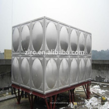 Tanque de almacenamiento de agua caliente de tanques de agua de acero inoxidable aislado