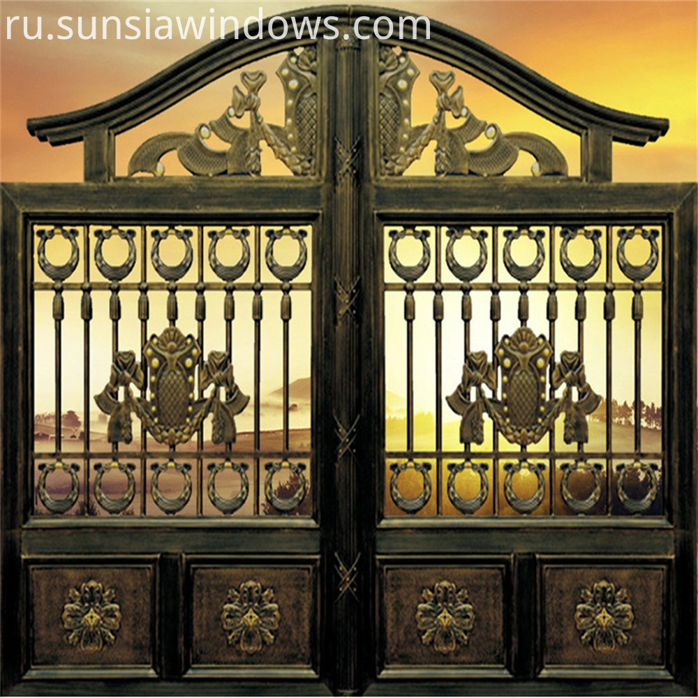 Outdoor Patio Gate