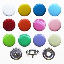 10mm çeşitli renk Snap düğme hazır giyim için