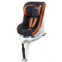 Baby car seats with orange-black cover