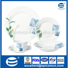 hot selling design ceramic round for daily use
