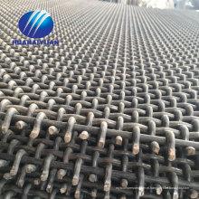 Mina de malha de tela de vibração Mn65 triturador de pedreira malha abanador de pedra