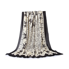 Elegant Women Pretty Elephant Print Sheer Scarf (SW103)