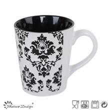Taza de café de cerámica 12oz venta caliente