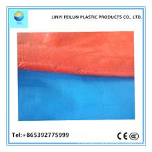 High Quality Blue/Orange Tarpaulin