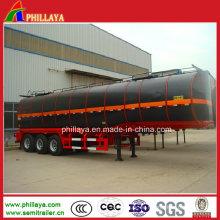 Asphalt-Speicher-Tanker-halb Anhänger / Bitumen-Heizungs-Behälter