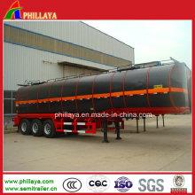 Asphalt Storage Tanker Semi Trailers / Bitumen Heating Tank