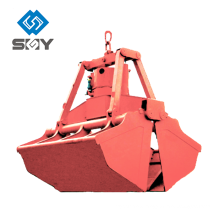 Four Rope Mechanical Crane Grab Bucket