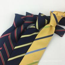 Cravate en soie 100% tissée à la main en jacquard tissé à la main pour homme