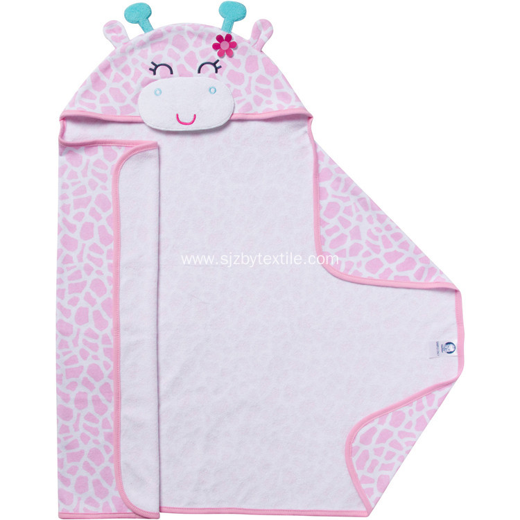 Hot Sales Organic Bamboo Baby Hooded Towel