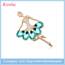 Mariage Broche en strass Femmes Robes Broches Femmes Robes Chine Fournisseurs Yiwu Jewelry