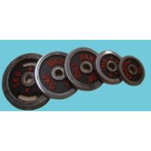 Placa barra, mancuerna de peso, barra de cromo (USH-1)