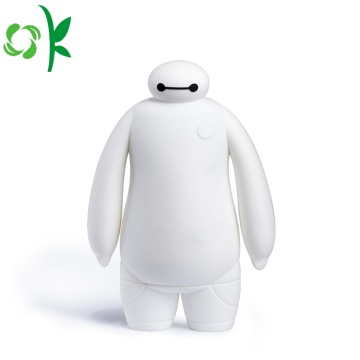 Custodia in silicone bianco per Fat Baymax Powerbank Case
