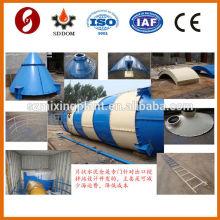 Silo de ciment de qualité Piece type 150 tonnes à vendre avec tous les accessoires