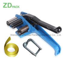 Jpq-50 Zd Pack Hand Plastic Cord / Fiber / Pet Strapping Strapper con correa 50mm