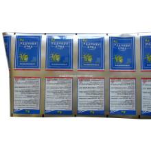 Film en plastique d'emballage d'herbicide / film de phytocide / film de weedicide / film de tueur de mauvaise herbe