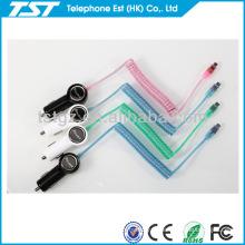 Conjunto do cabo do carregador do carro para o telefone micro do Usb