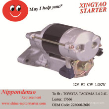 Fabrication de démarreur de voiture 1995-1996 en Chine pour Toyota Tacoma (17666)