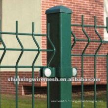 Clôtures en plein air recouvertes de PVC