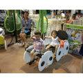 Cadeira das crianças com nenhuma borda afiada Mobília Weaving da vime