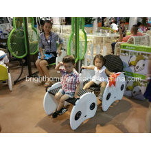 Silla de niños sin bordes afilados Muebles de tejido de mimbre
