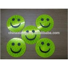 Lovely Reflective Sticker, Cheap Custom Sticker, Custom Smile Face Stickers