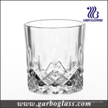 Diamond Design Crystal White Rock Glass Tumbler (GB040908JC)