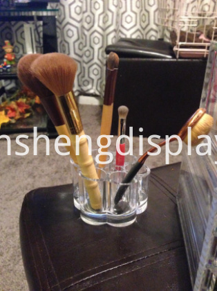Transparent Acrylic Makeup Brush Holder