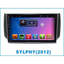 Android автомобильный DVD и GPS-навигация для Sylphy с MP3 / MP4 / Bluetooth / TV / WiFi