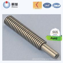 Chine Fournisseur ISO Nouveaux Produits Standard Acier Inoxydable Cannelé Axe Axe