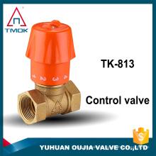 Top venda de controle de bronze válvula de controle de Temperatura