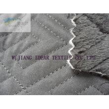 Gestrickte Beflockung verklebt mit Raum Baumwolle und Taslon