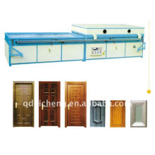 pvc door making vacuum membrane press machine in packing&printing
