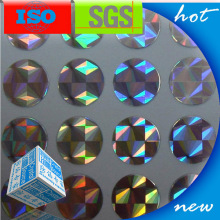 Anti-Counterfeit Holographic Sticker Label