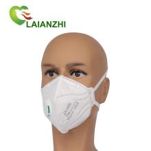 Prix d'usine de gros blanc masque respiratoire jetable Kn95 pliable avec valve