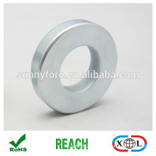 permanent sintered neodymium ring rotor magnet