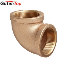 GutenTop High Quality brass forged pipe fittings of elbows with BSP threaded