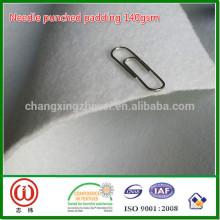 Needle punched padding