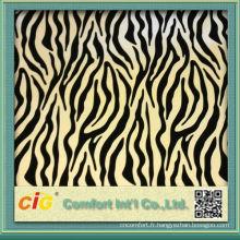 2015 mode nouveau design haut de haute qualité PVC PU tissu en cuir artificiel