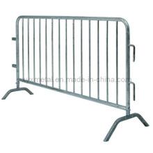 Оцинкованный металлический сверхпрочный барьер для контроля толпы